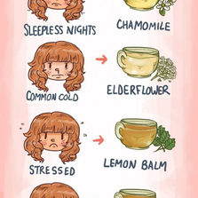 Useful Chart About Tea
