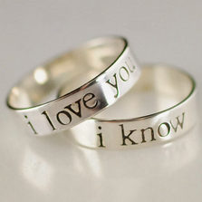 My type of wedding rings