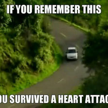 Survived a heart attack