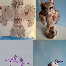 Talented Artist Transforms Kids Drawings Into Plush Toys
