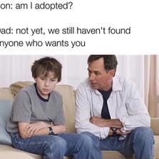 Am I adopted?