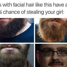 Guys with facial hair like this