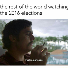 The world watching the 2016 elections