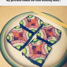 Most amazing sushi