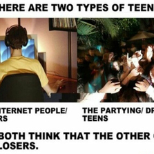 Two types of teens