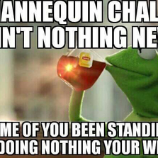 The Mannequin challenge ain't new