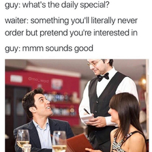 What's the daily special
