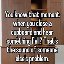 Someone else's problem