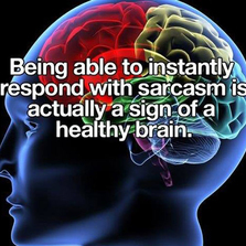 A sign of a healthy brain