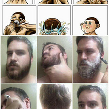 Never Shave, Just Don't Do It
