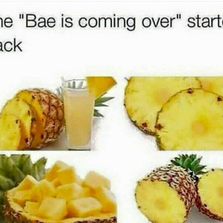 Bae is coming over starter pack