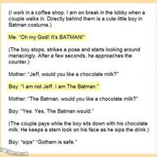 He Is The Batman