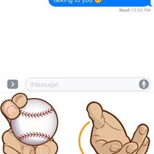 Hitting em with a curveball