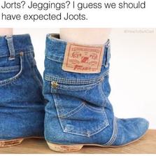 Should have expected joots