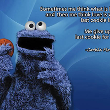 The Cookie Monster Is A Lot Deepe...