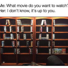 What movie do you want to watch