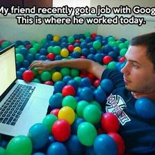 Friend got a job with Google
