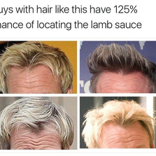 Guys with hair like this