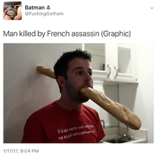 Killed by French assassin