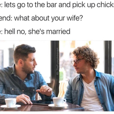 Let's go to the bar