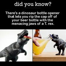 T Rex bottle opener