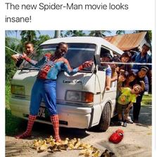 The new spider-man movie