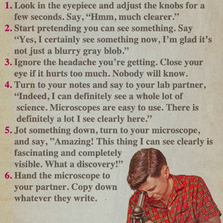 Using Your Microscope