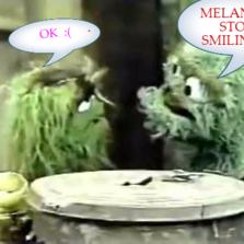 MELANIA ! STOP SMILING !!  OK  :(