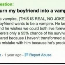 Funny yahoo questions