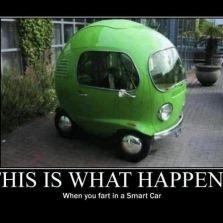 farting in a smart car. Black Bedroom Furniture Sets. Home Design Ideas