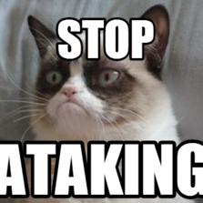 stop  ataking