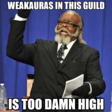 The amount of Weakauras in this guild is too damn high
