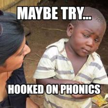 1694359 meme characters memes com,Hooked On Phonics Meme