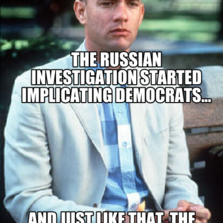 The Russian investigation started implicating democrats... And just like that, the media stopped reporting on russia