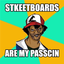 STKEETBOARDS ARE MY PASSCIN