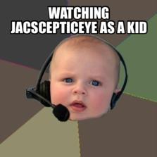 watching jacscepticeye as a kid
