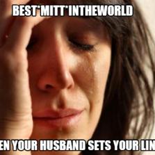 Best*mitt*intheworld when your husband sets your lineup