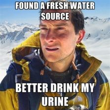 Found a fresh water source