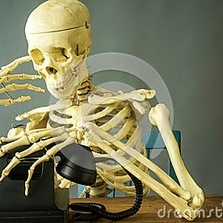 Waiting for a friend to call