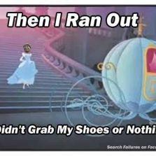 Than I ran out!