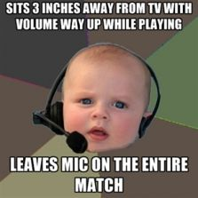 Leaves mic on the entire match