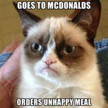 Goes to McDonalds