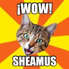 ¡wow! sheamus
