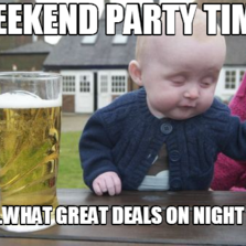 images of party time baby meme spacehero