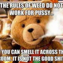 The rules of weed