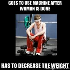 Has to decrease weight