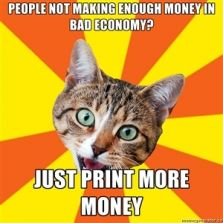 Print more money