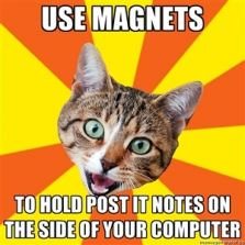 Use magnets on your computer