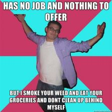 No job and nothing to offer