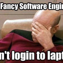 Fancy software engineer